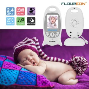 FLOUREON Babyphone mit Kamera Digital Video Baby Monitor Gegensprechfunktion 2-Wege Audio platz 5